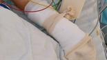 הנער מאושפז בבית חולים שיבא