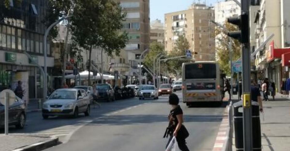עסקים ברחוב סוקולוב בהרצליה