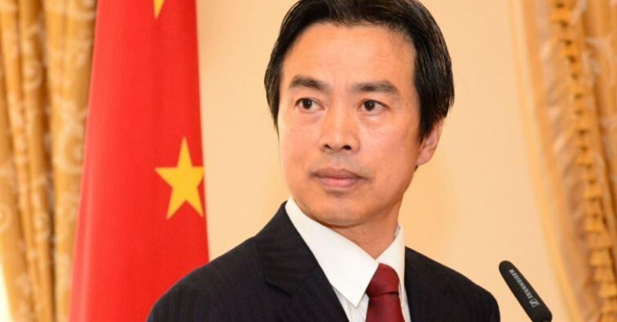 """שגריר סין החדש בישראל, דו וויי ז""""ל"""