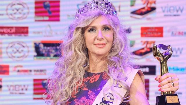 ענת פביאן. הסבתא הכי יפה בישראל