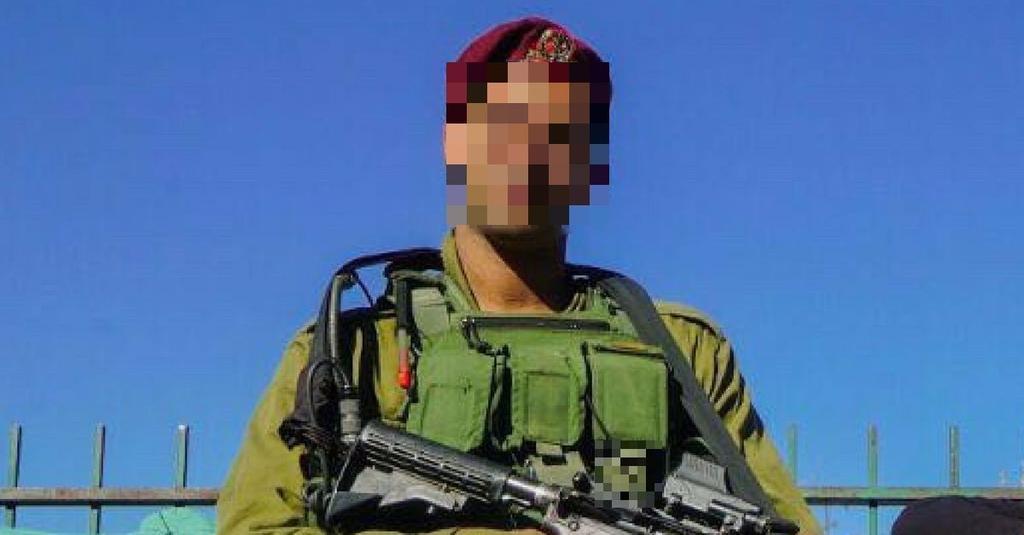 א' במהלך שירותו הצבאי | צילום: פרטי