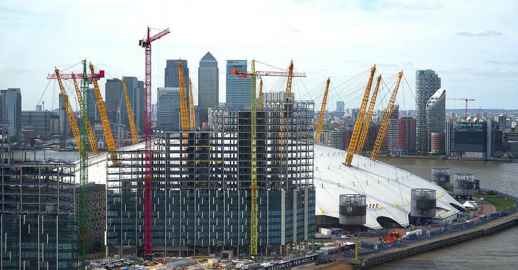 מתחם O2 בלונדון   צילום: Shutterstock