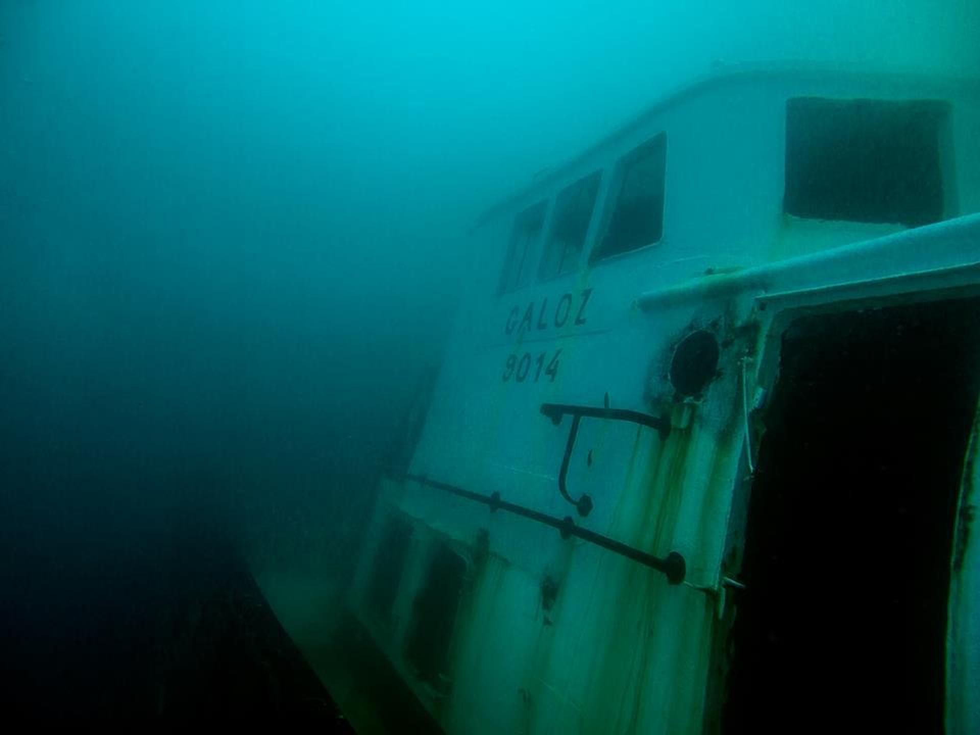 הספינה במצולות | צילום: אורן קליין