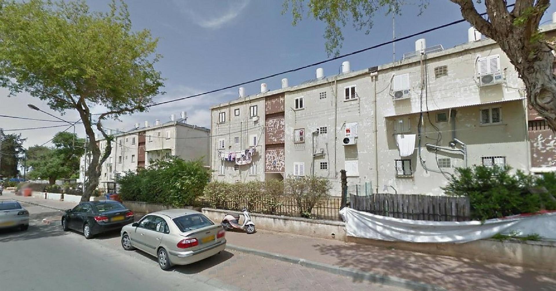 מבנים שצפויים לעבור פינוי בינוי בשכונת יד התשעה | צילום: עיריית הרצליה