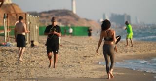 החוף הנפרד | צילום: אסף פרידמן