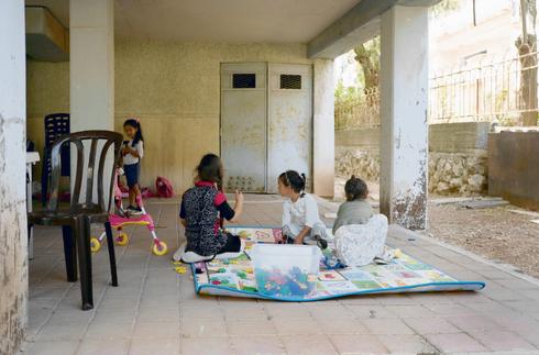 הגן בקרית מנחם.צילום: יואב דודקביץ'
