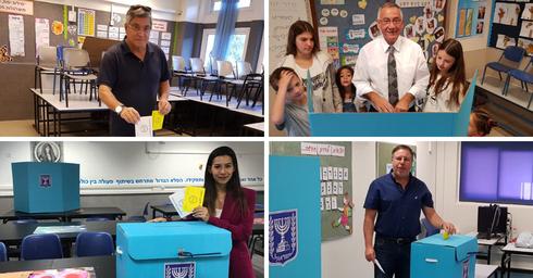 מורג, פביאן, כץ ופדלון - כל המועמדים הצביעו | צילומים: פרטי