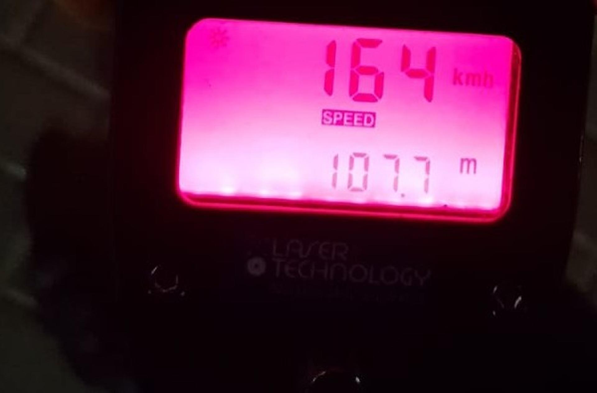 יותר מפי 2 מהמהירות המותרת | צילום: דוברות המשטרה