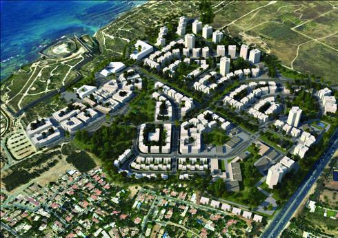 הדמיית הפרויקט: רשות מקרקעי ישראל