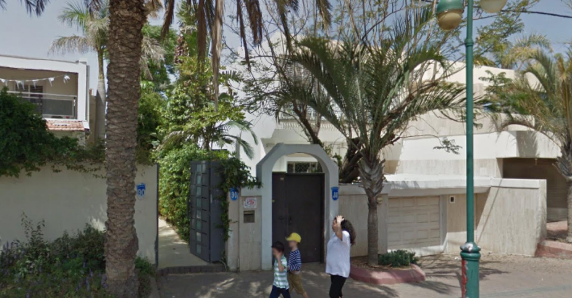 בית הכנסת בוינגייט 90. צילום: google earth