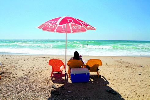 חוף זבולון   צילום: אסף פרידמן