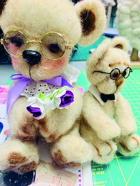 הדובים של קלרה | צילום: קלרה גולדשטיין